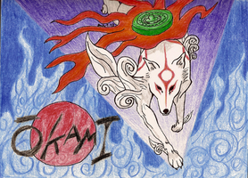 Through the Flames by SilverDragonwolf