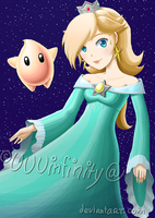 Princess Rosalina by UUUinfinity