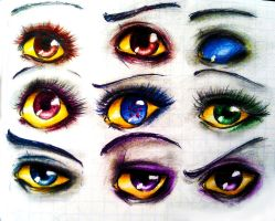 Homestuck eyes by steamshade69