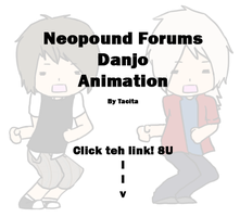 Neopound Danjo Animation by HowlingWolfess