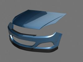 Opel Astra 2 WIP by prox3h
