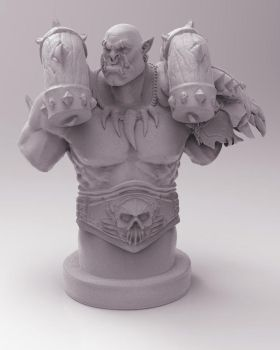 Garrosh - 3D Print Design by Kanaru92