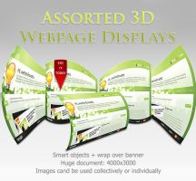 Free Assorted 3D Web Displays by ArtoriusGothicus