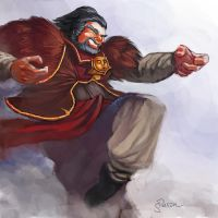 Drunken master of Outworld by Sopeh