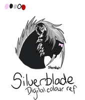 Silverblade Colour Ref -gift- by ImmortalShande