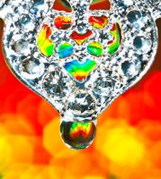 Diamond droplet by pqphotography