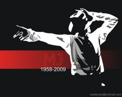 Michael Jackson 1958 - 2009 by 2eeDeme2