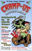 Cramp-Us Flyer by paigey