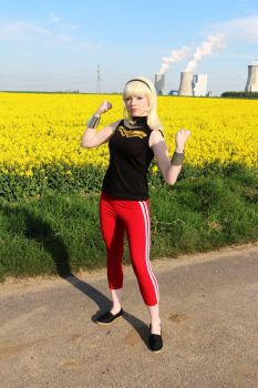 Wonder Girl - Young Justice III by Knightess-Rouge