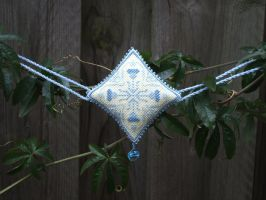 Ornament of the Month - March,  Garland finish by Magical525