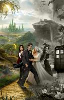 Drwho in oz poster by rocketman28
