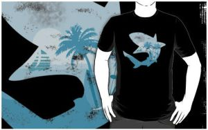 Ocean Within T-Shirt by Robo-Shark