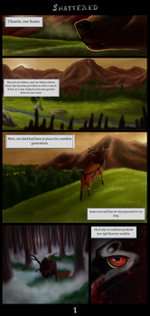 Shattered - Page 1 by FellDeer