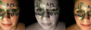 NEDA Eating Disorder Contest - I Am Beautiful by RaCzarina