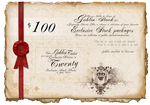 Golden Exclusive Ticket by GoblinStock