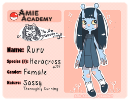 Amie Academy - Application - R u r u by cherifish