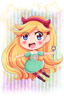 Star Butterfly by Ivory-Ice