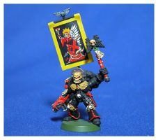 Blood Angels Chaplain by jonnymorris