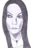 Tarja Turunen Sketch by snow-white-king
