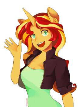 Sunset Shimmer by KalTheDestroyer
