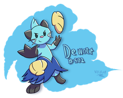 It's a Dewott! by veldu9