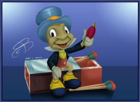 Jiminy Cricket by RCBrock