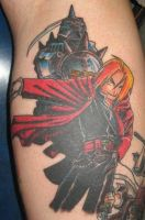 fma tattoo by evldemon