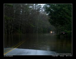 Submerged Driveway by PhotographyByIsh