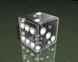 Glass Dice by todd587