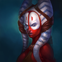 Shaak Ti by angelicaalieva