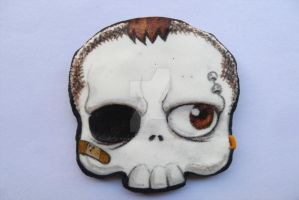halloween chocolate cookie skull tacky boy by ALI-MALBICHO