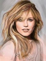 Dianna Agron by RAblewhite