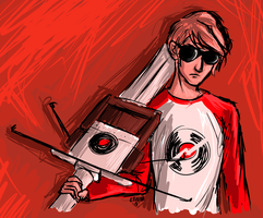 31 Day Homestuck Fanart Challenge- day 13 by Eritcha