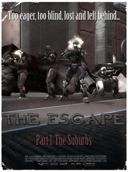 HALO L4D Poster 1 - The Escape by DharionDrahl