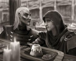 Dinner at the Inn by LMColver