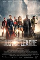 Justice League Movie Poster by Bryanzap
