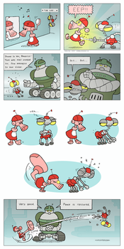 Two Wrongs Make A Robot Right by Rhodeway