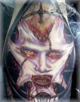 Evil face 2 by state-of-art-tattoo