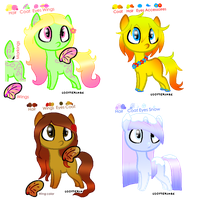 MLP Adoptable Batch - Seasons .: CLOSED :. by M00nlightMagic