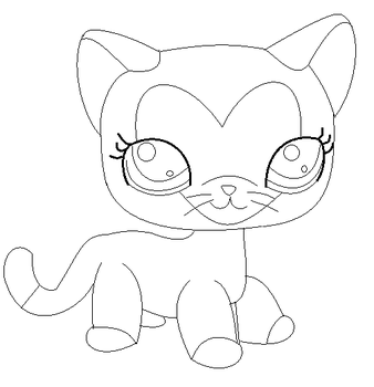 LPS base siamese cat base by BrownSugarLPS