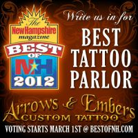 Vote for Us, Best Tattoo Shop in New Hampshire! by seanspoison