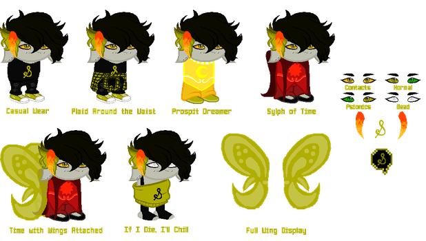 Sprite Sheet: Tautus Thjorn by mirthful-suffering