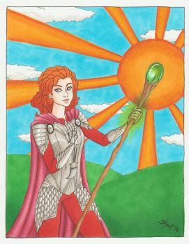 Dragon Age Inquisitor - Ace of Wands by St0DaD