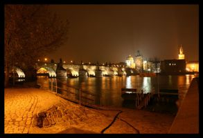 Evening in Prague 2 by fuchi