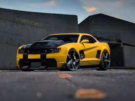 Chevrolet_Camaro by blackdoggdesign