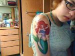 Ariel tattoo by leah2culp