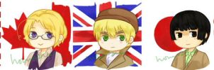 hetalia buttons by apporu