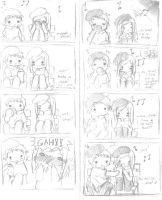 indirect kiss by AnimEmo