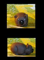 Wombat by Scarlet-Dragonfly