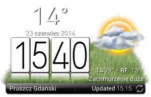 Lg Based Weather With Clock by Slavoo123